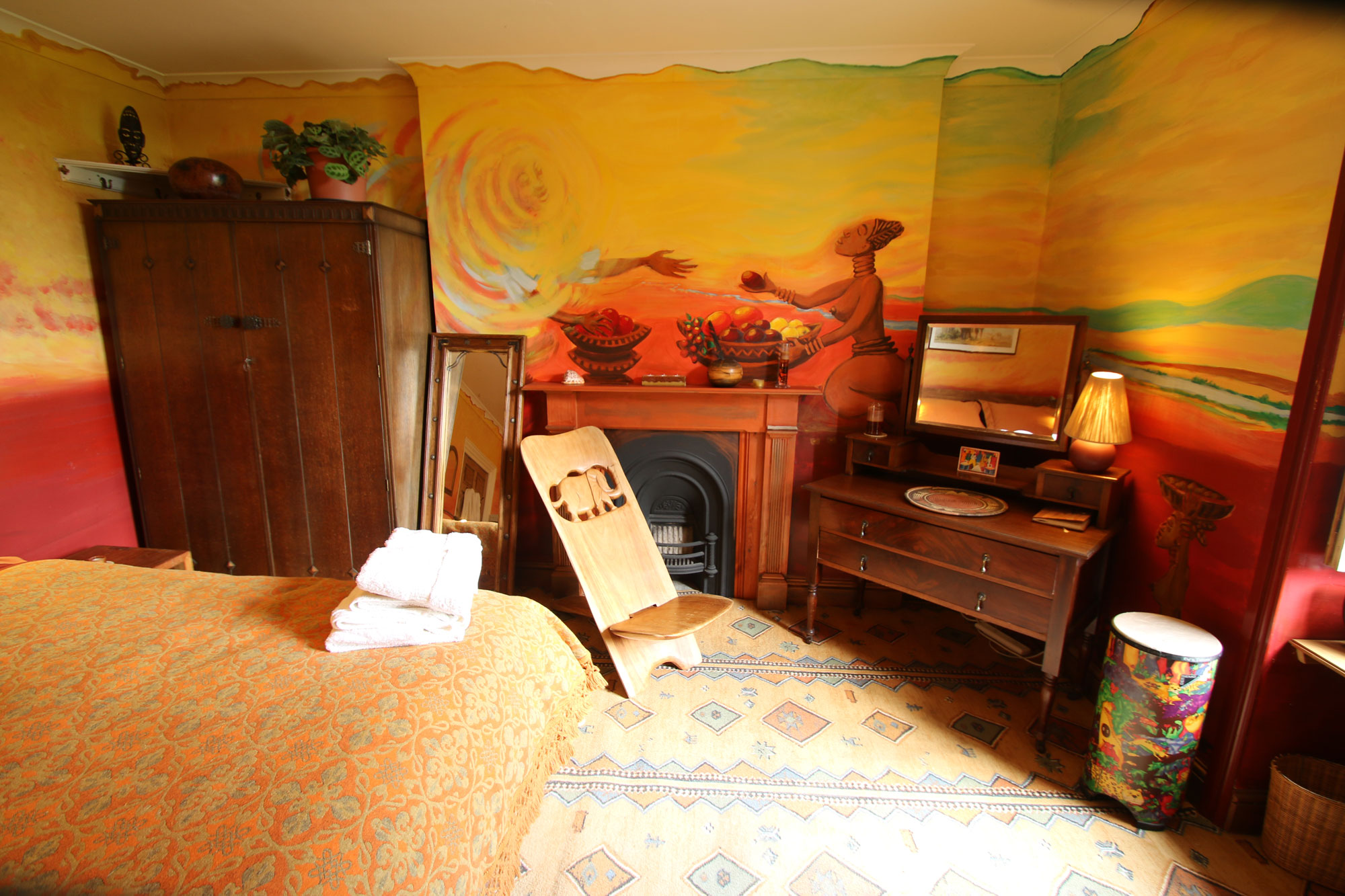 Oya double room at Over the Rainbow