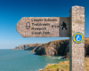Wales Coast Path sign